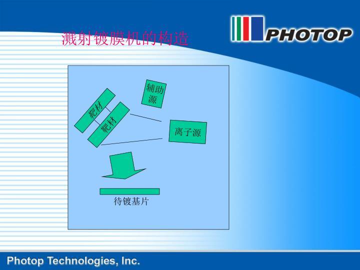 溅射镀膜机的构造