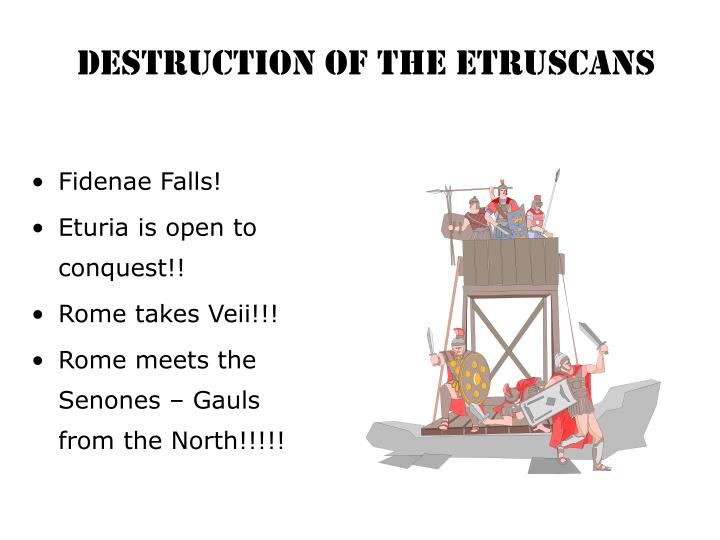 Destruction of the Etruscans