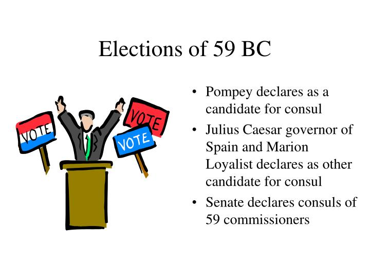 Elections of 59 BC