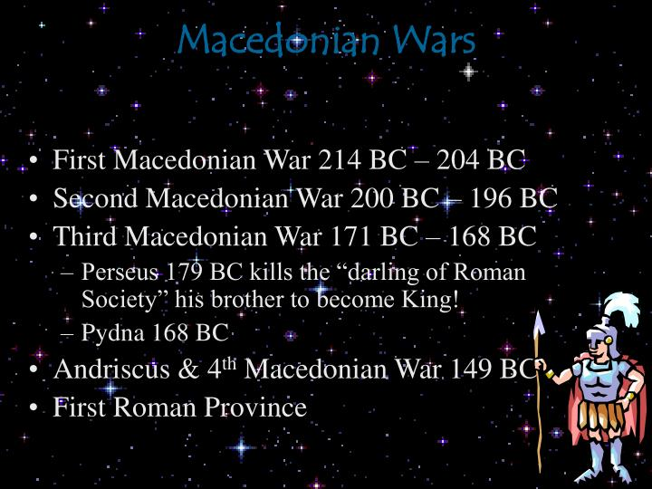 Macedonian Wars