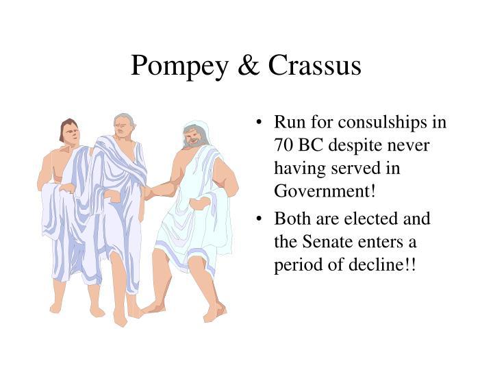 Pompey & Crassus