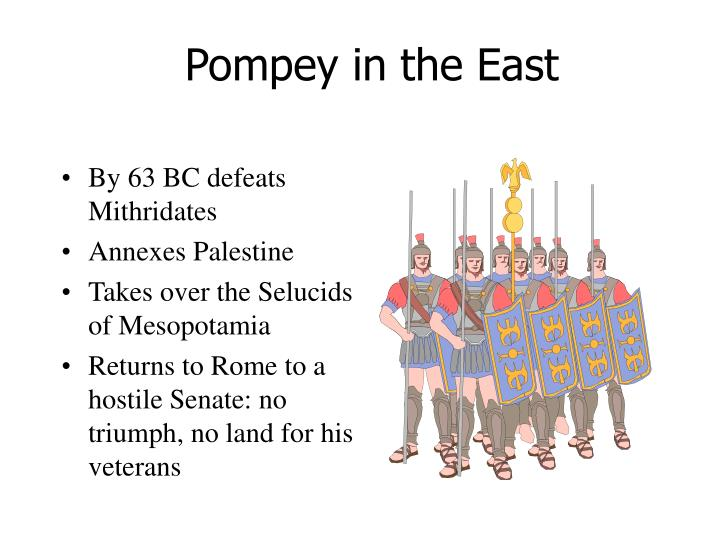 Pompey in the East
