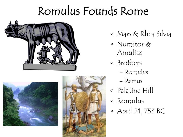 Romulus Founds Rome