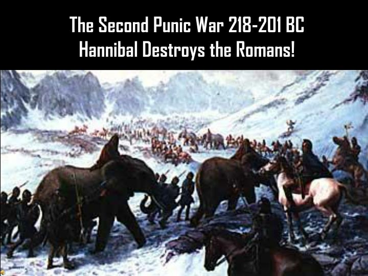 The Second Punic War 218-201 BC