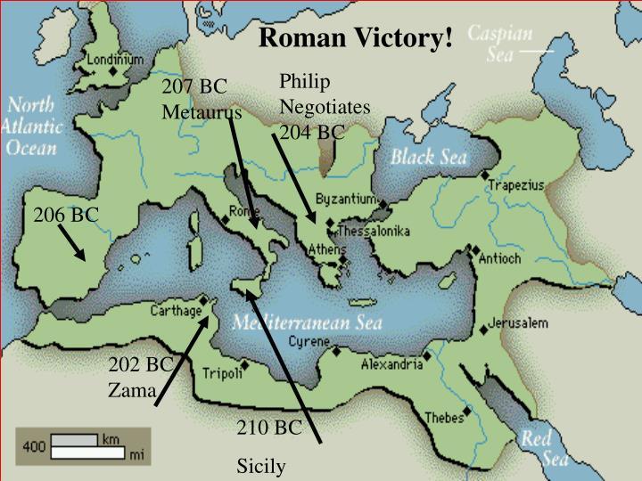 Roman Victory!