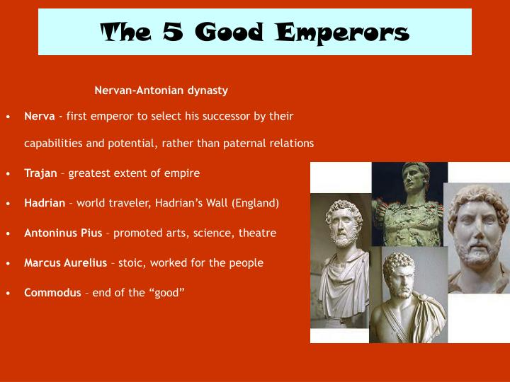 The 5 Good Emperors