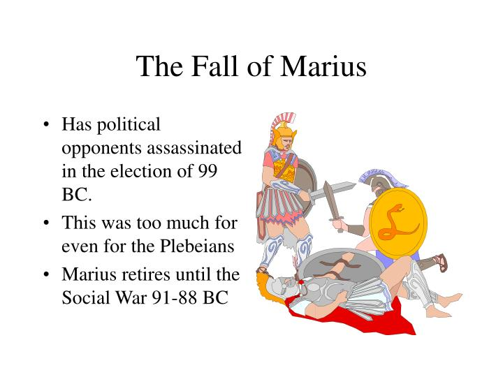 The Fall of Marius