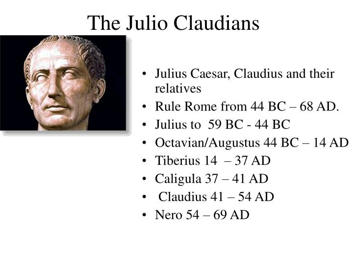 The Julio Claudians