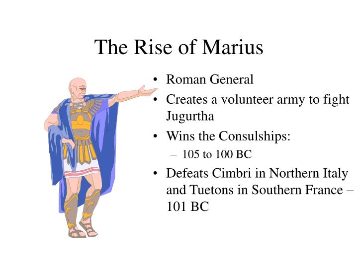 The Rise of Marius