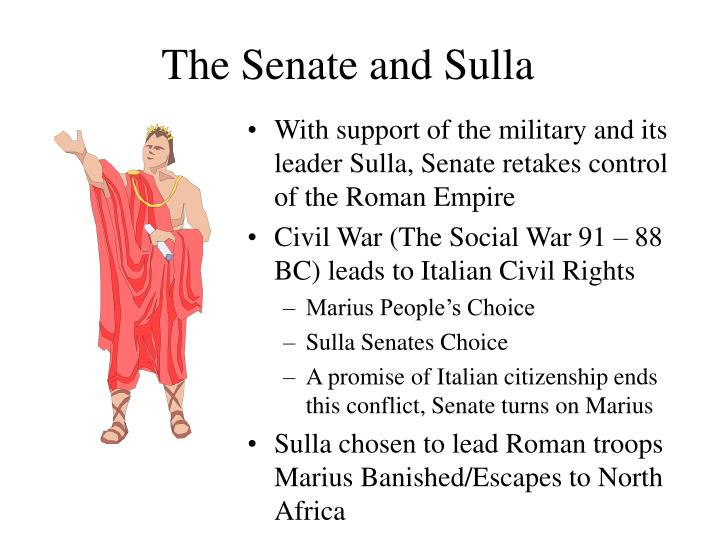 The Senate and Sulla