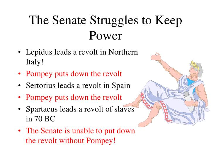 The Senate Struggles to Keep Power