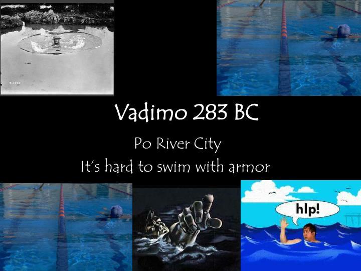 Vadimo 283 BC