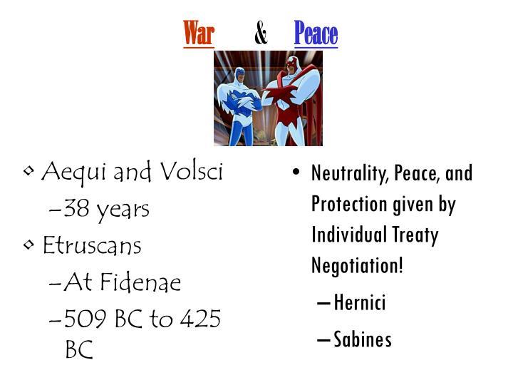 Aequi and Volsci