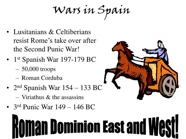 Wars in Spain