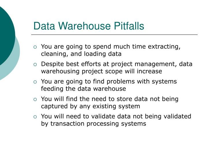 Data Warehouse Pitfalls