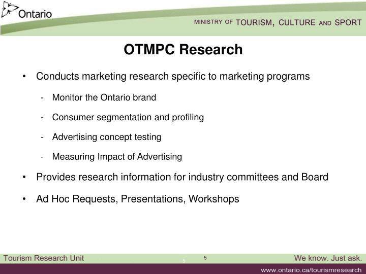 OTMPC Research
