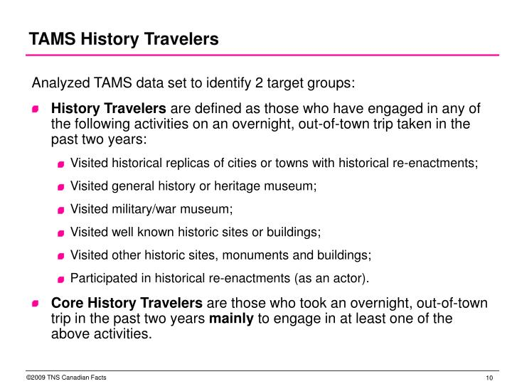TAMS History Travelers