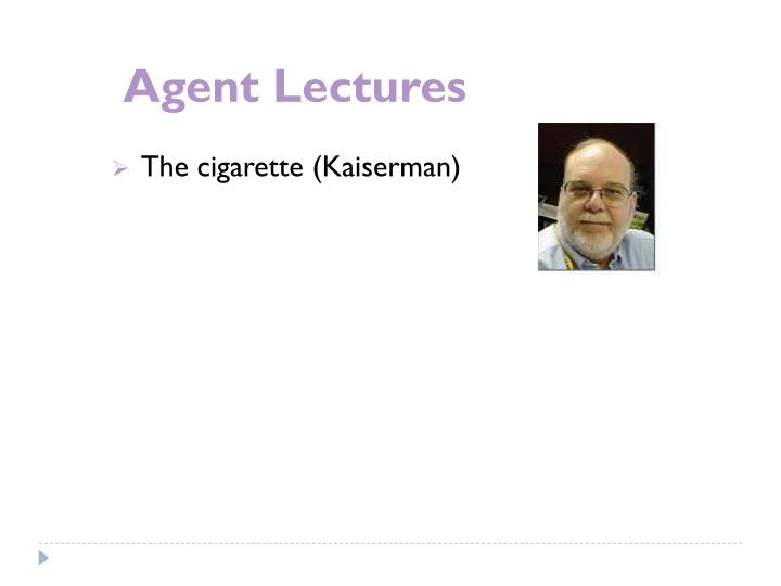 Agent Lectures
