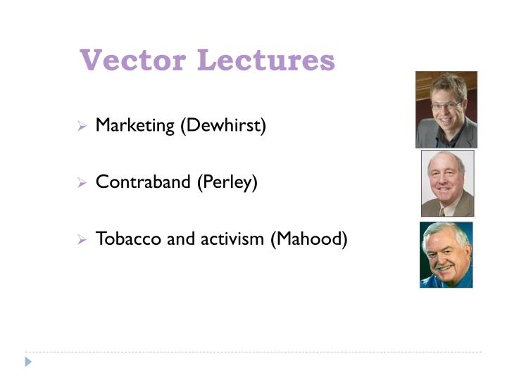 Vector Lectures
