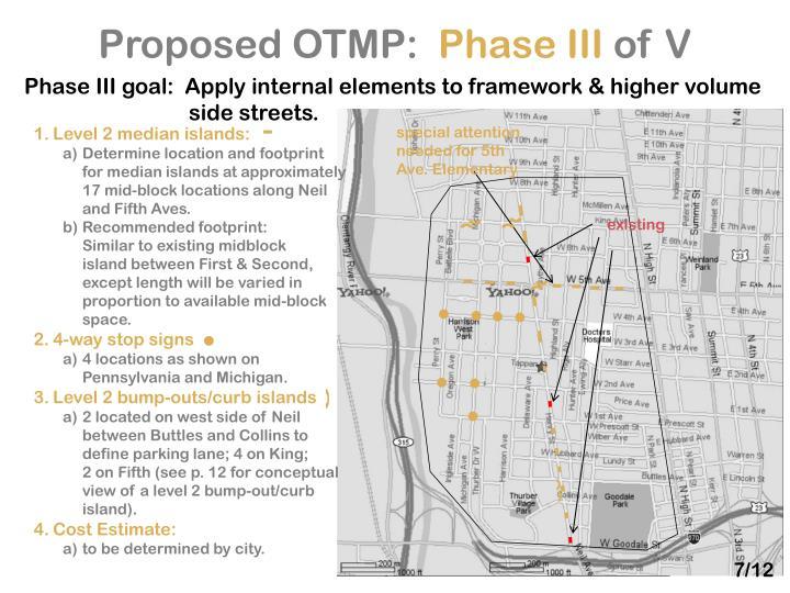 Proposed OTMP: