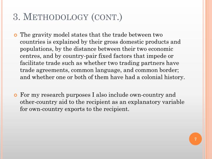 3. Methodology (cont.)