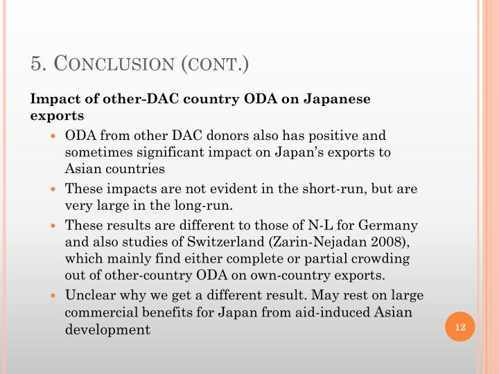 5. Conclusion (cont.)