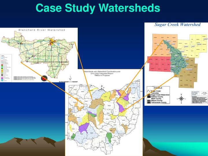 Case Study Watersheds