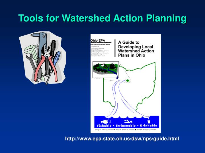 Tools for Watershed Action Planning