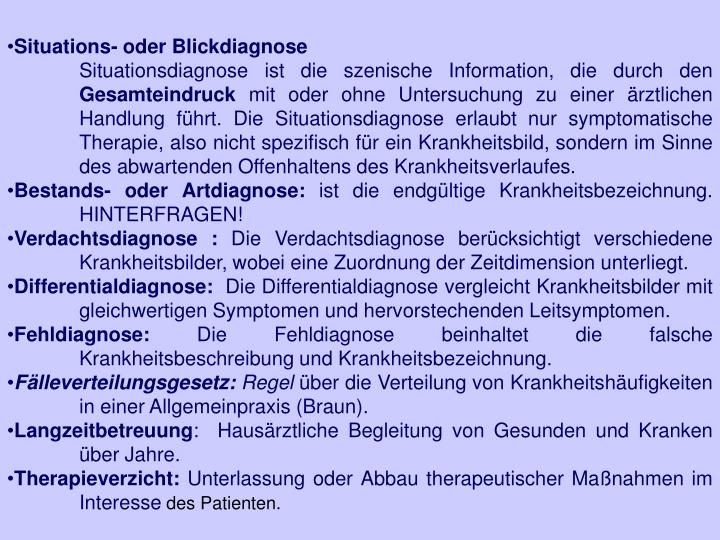 Situations- oder Blickdiagnose