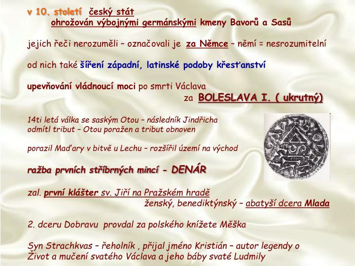 v 10. století