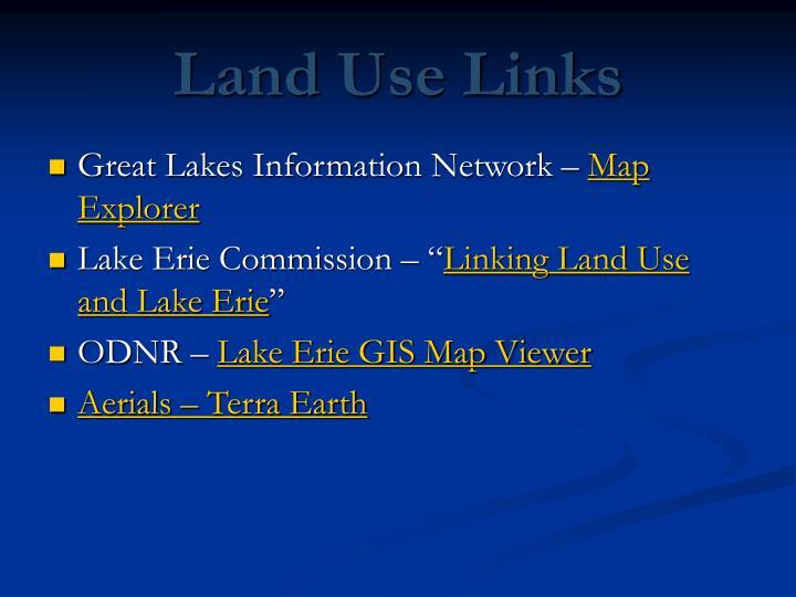Land Use Links