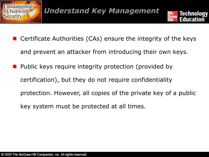 Understand Key Management