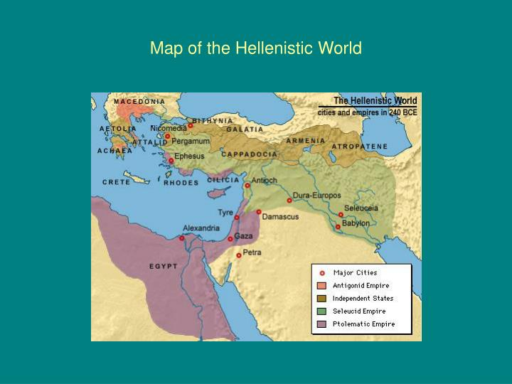 Map of the hellenistic world