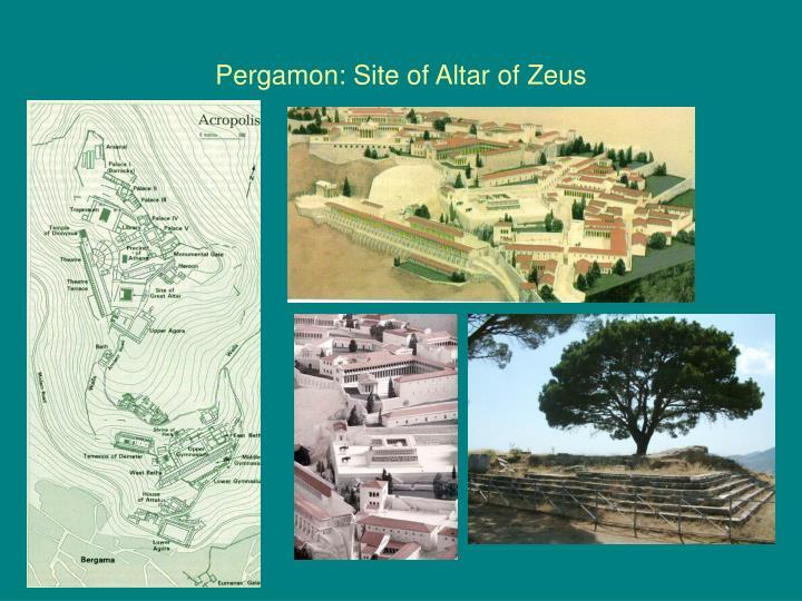 Pergamon: Site of Altar of Zeus