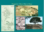 pergamon site of altar of zeus