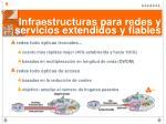 infraestructuras para redes y servicios extendidos y fiables2