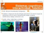 sistemas cognitivos interactividad rob tica1