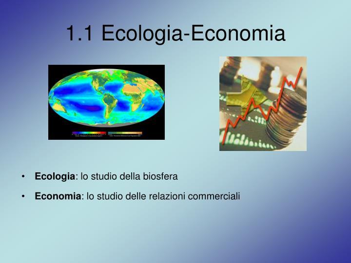 1.1 Ecologia-Economia
