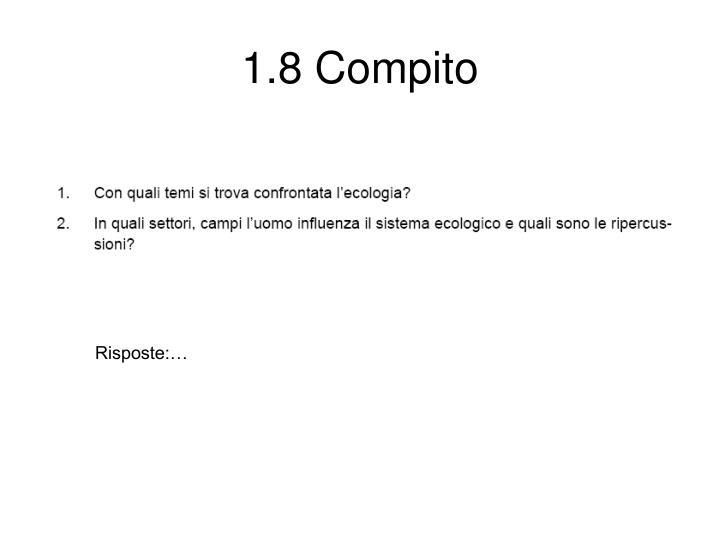 1.8 Compito
