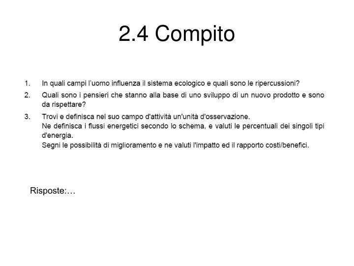 2.4 Compito