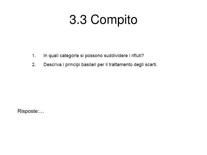 3.3 Compito