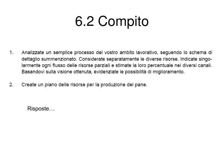 6.2 Compito