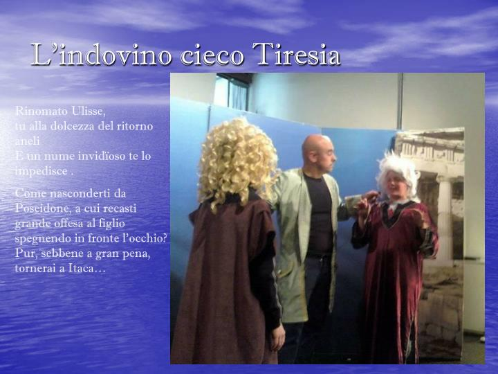 L'indovino cieco Tiresia