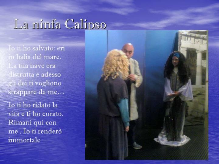 La ninfa Calipso