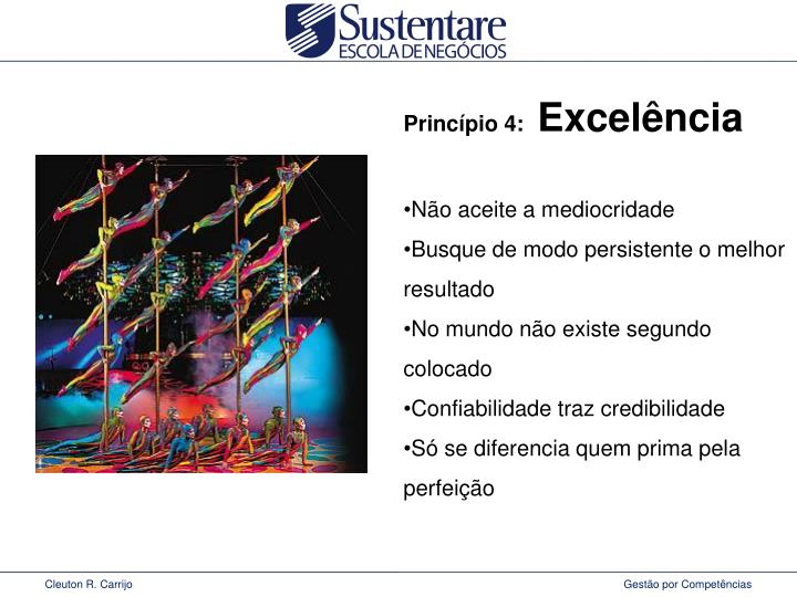 Princípio 4: