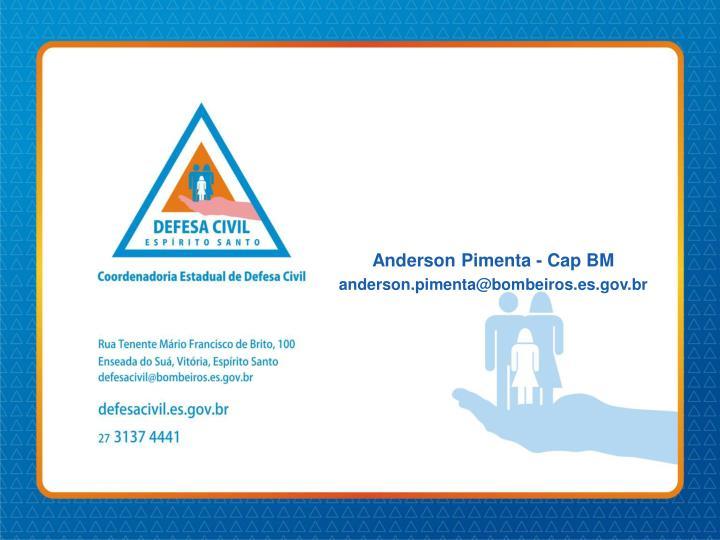 Anderson Pimenta - Cap BM