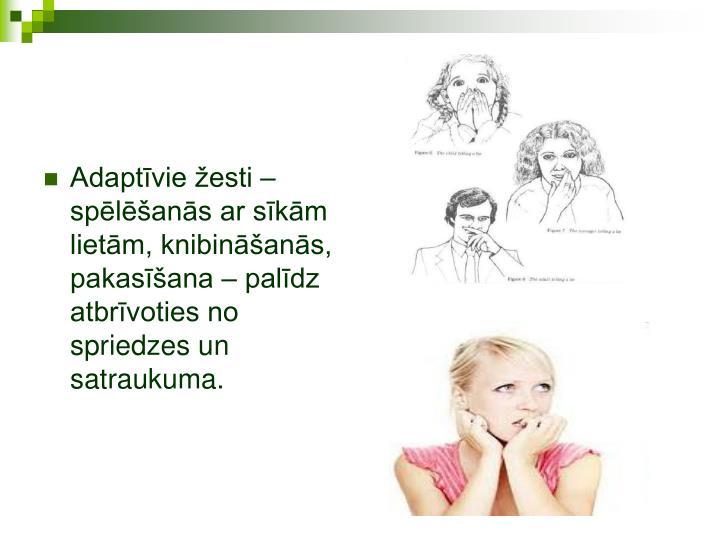 Adaptīvie žesti