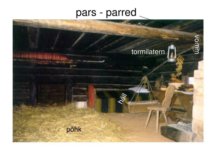 pars - parred