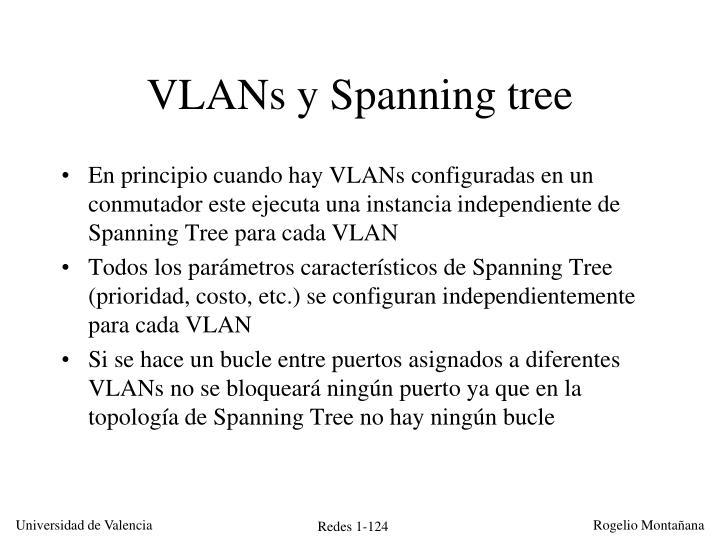 VLANs y Spanning tree