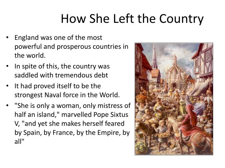 How She Left the Country